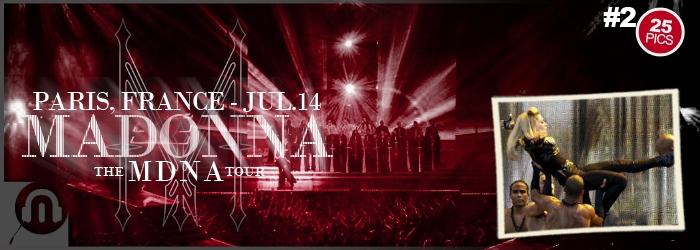 The MDNA Tour - Paris July 14 - Pictures 2