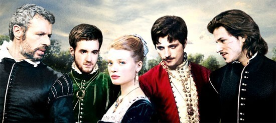 La Princesse de Montpensier affiche Gaspard Ulliel - Lambert Wilson -