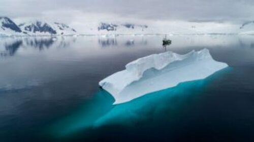 La pollution plastique s'étend jusqu'en Antarctique !