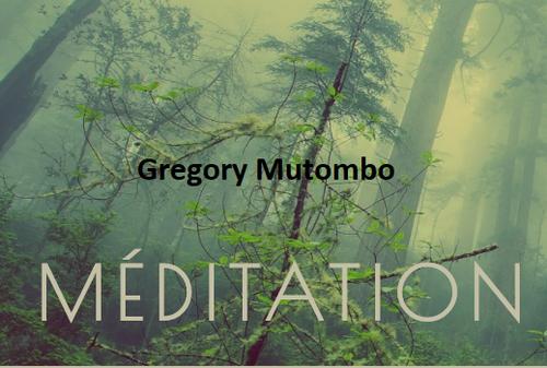 0,5 h méditation avec Grégory Mutombo