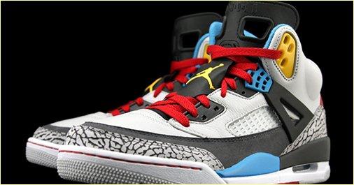 "Air Jordan Spiz'ike ""Bordeaux"""