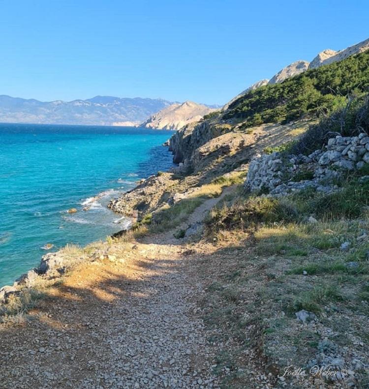 Croatie : Baška sur l'île de Krk