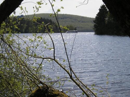 Au lac de Vassivière
