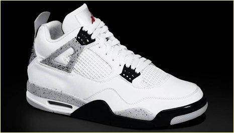 Air Jordan IV Retro Cement pour 2012