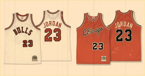 Michael Jordan Rookie Jerseys chez Mitchell & Ness