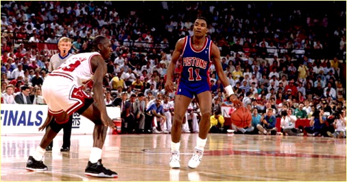 Chicago Bulls vs. Detroit Pistons - 29 mai 1989 - Conf. Finals Game 4
