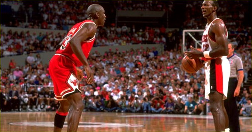Portland Trailblazers vs. Chicago Bulls - 29 novembe 1991
