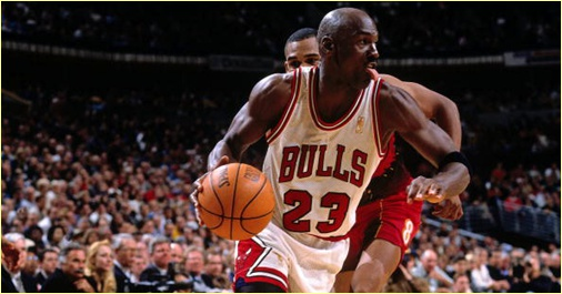 Chicago Bulls vs Atlanta Hawks - 28 mars 1996