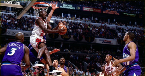 Chicago Bulls vs. Utah Jazz - 13 juin 1997 - The fifth Title