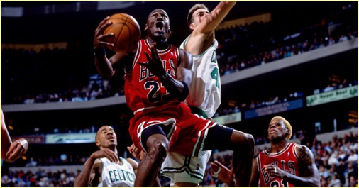 Chicago Bulls vs. Boston Celtics - 6 janvier 1998