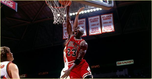 Atlanta Hawks vs. Chicago Bulls - 27 mars 1998