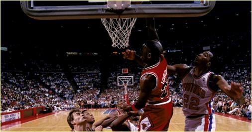 Detroit Pistons vs. Chicago Bulls - 25 mai 91 - Conf. Finals Game 3