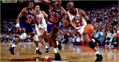Chicago Bulls vs. New York Knicks - 25 décembre 1992 - Christmas Day