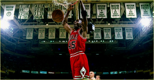 Boston Celtics vs. Chicago Bulls -22 mars 1995