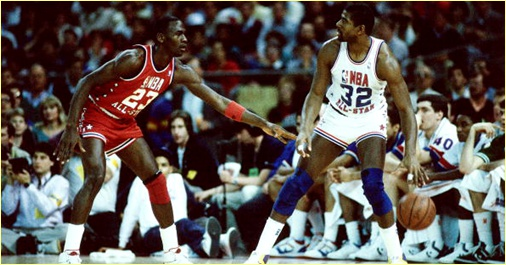 All-Star Game Seattle - 8 février 1987 - Second ASG appearance