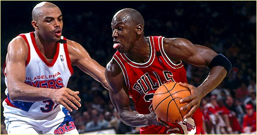 Philadelphia 76ers vs. Chicago Bulls - 30 jan. 87 - MJ score 49 pts