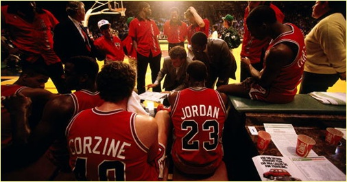 Milwaukee Bucks vs. Chicago Bulls - 1er mai 1990 - 1st Round Game 4