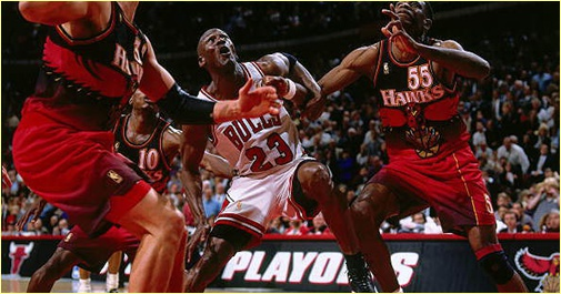 Chicago Bulls vs. Atlanta Hawks - 6 mai 1998 - Conf. SF Game 1
