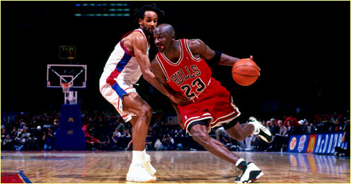Open McDonald's - Chicago Bulls vs. PSG Racing - 18 octobre 1997