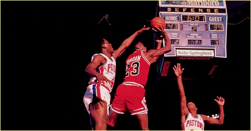 Detroit Pistons vs. Chicago Bulls - 15 décembre 1987