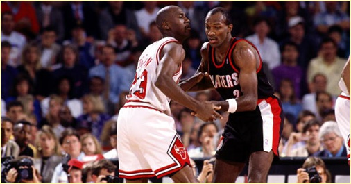 Portland Trailblazers vs. Chicago Bulls - 23 novembre 1990