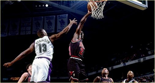 Chicago Bulls vs. Milaukee Bucks - 2 janvier 1998