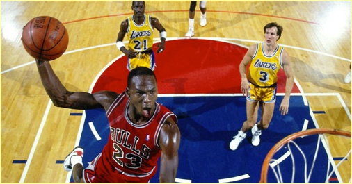 Chicago Bulls vs. Los Anegeles Lakers - 19 février 1985