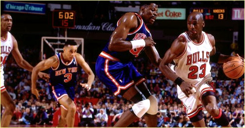 Chicago Bulls vs. New York Knicks - 15 février 1992