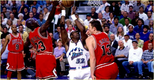 Utah Jazz vs Chicago Bulls - 6 juin 1997 - Finals Game 3