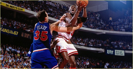 Chicago Bulls vs. Cleveland Cavaliers - 28 mars 1992