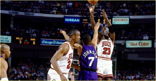 Chicago Bulls vs. Phoenix Suns - 18 juin 1993 - Finals Game 5