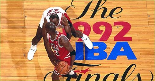 Chicago Bulls vs. Portland Trailblazers - 3 juin 92 - Finals Game 1