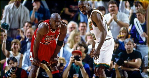 Seattle Supersonics vs. Chicago Bulls - 14 juin 96 - Finals Game 5