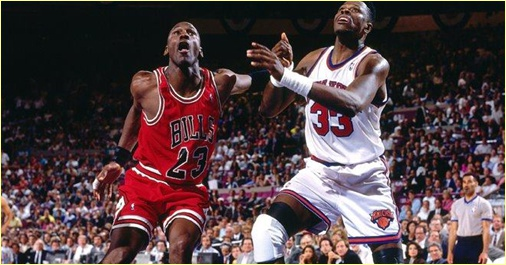Chicago Bulls vs. New York Knicks - 28 avril 91 - 1st Round Game 2