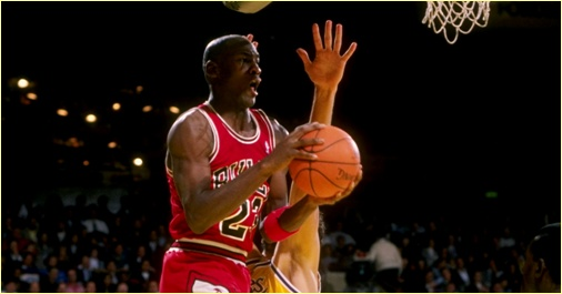 Chicago Bulls vs. Los Angeles Lakers - 20 nov 92 - MJ score 54 points