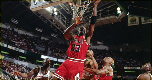 Seattle Supersonics vs. Chicago Bulls - 9 juin 96 - NBA Finals Game 3