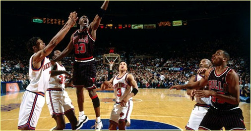 Chicago Bulls vs. New York Knicks - 5 mai 1996 - Conf. SF Game 1