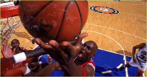 Philadelphia 76ers vs. Chicago Bulls - 24 mars 1993