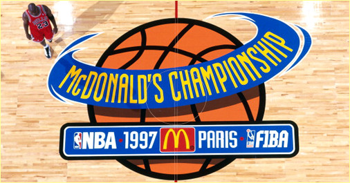 Open McDonald's - Chicago Bulls vs. PSG Racing - 17 octobre 1997