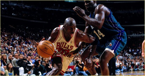 Chicago Bulls vs. Charlotte Hornets - 3 mai 1998 - Conf. SF Game 1
