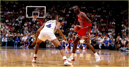 Cleveland Cavaliers vs. Chicago Bulls - 25 mars 1988