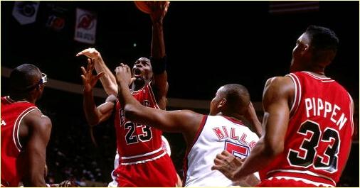 Chicago Bulls vs. New Jersey Nets - 2 avril 1993
