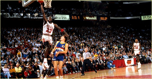 Denver Nuggets vs. Chicago Bulls - 24 novembre 1990