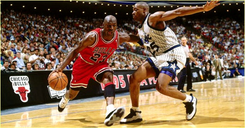 Orlando Magic vs. Chicago Bulls - 14 novembre 1995
