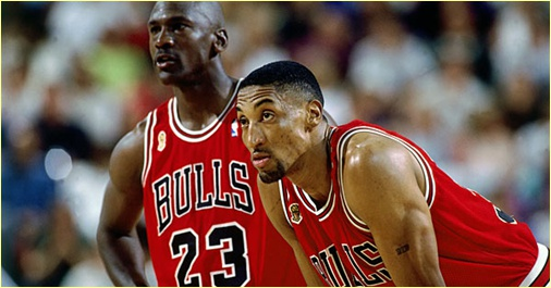 Chicago Bulls vs. Houston Rockets - 5 avril 1998