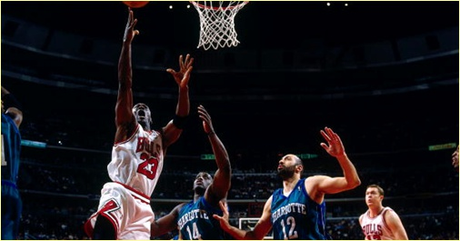 Chicago Bulls vs. Charlotte Hornets - 13 mai 1998 - Conf. SF Game 5