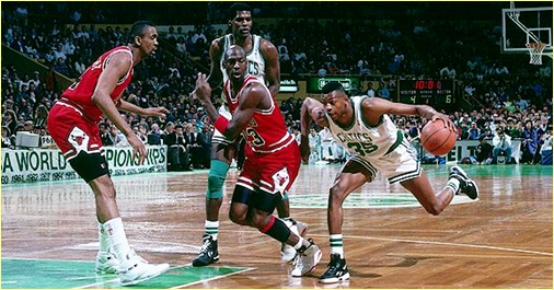 Boston Celtics vs. Chicago Bulls - 31 mars 1991 - MJ blocked 4 times