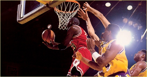 Los Angeles Lakers vs Chicago Bulls - 2 février 1992