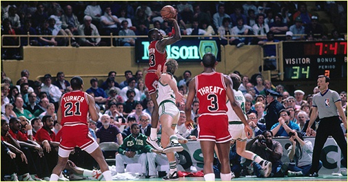 Boston Celtics vs. Chicago Bulls - 26 avril 1987 - 1st Round Game 2