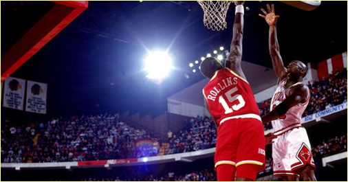 Houston Rockets vs. Chicago Bulls - 30 janvier 1992